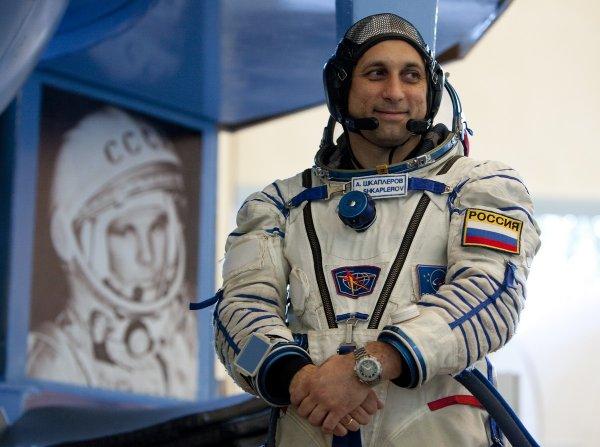 Космонавт Шкаплеров в третий раз отпразднует День Рождения на МКС