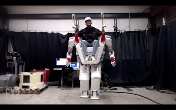 В Корее инженеры спроектировали ездового гуманоидного робота