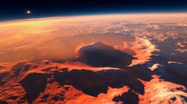 ESA показало Марс «в полный рост». На Красной планете все происходит наоборот
