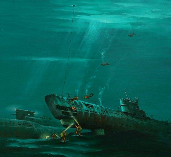 В Южной Корее спроектировано судно-спасатель подлодок