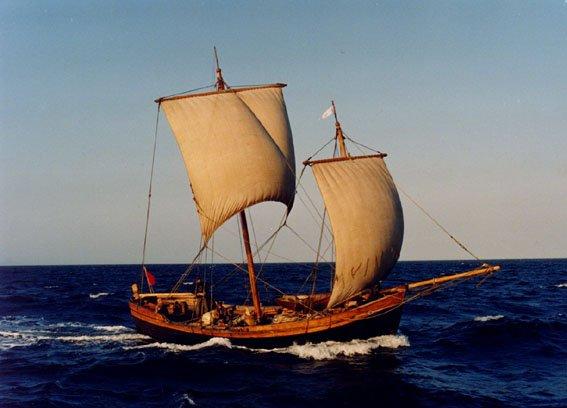 Американцы изобрели яхту по типу древних лодок