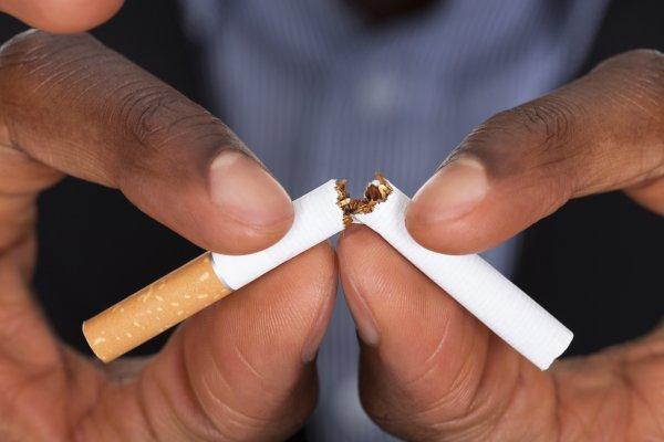Бросить курить помогает спорт