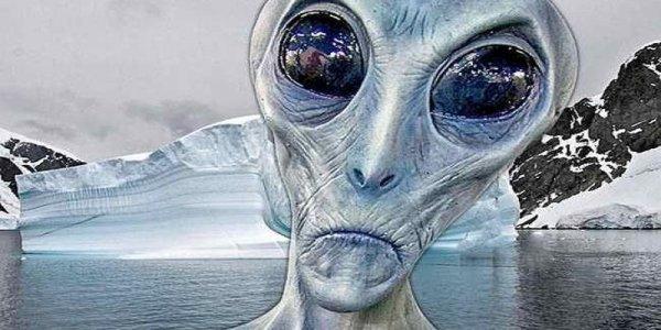 В Антарктике обнаружена огромная база НЛО: Гравитационное воздействие исходит из портала