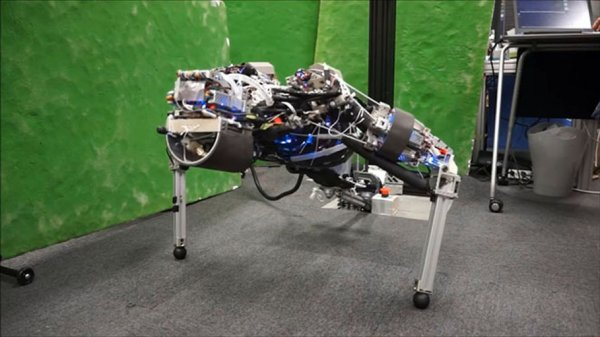 Ученые создали потеющего робота-спортсмена