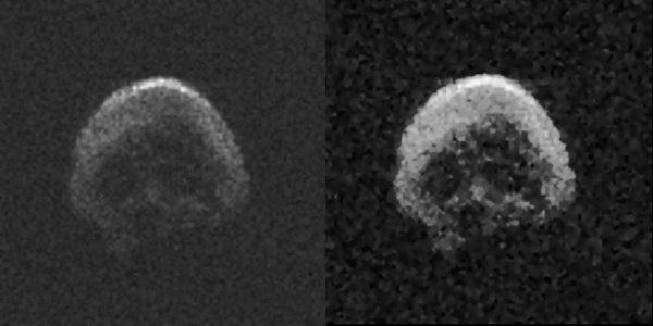 Астероид-череп приближается к Земле. Мистический объект появляется только на Хеллоуин