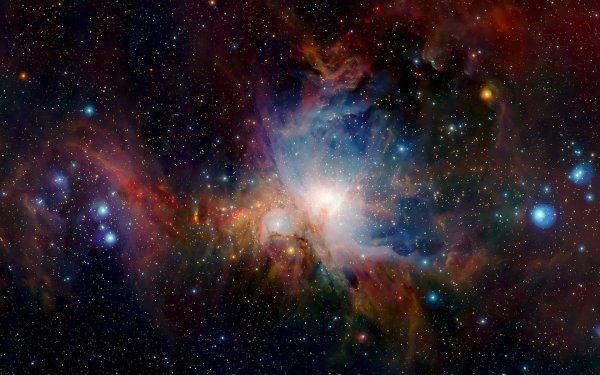 Уфолог обнаружил в Туманности Орион цилиндрический НЛО