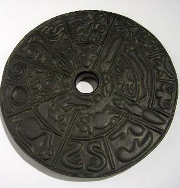 Уфологи считают диск с генетическим кодом посланием инопланетян