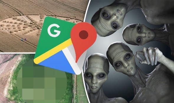 Google Maps зафиксировал шокирующие следы НЛО в США