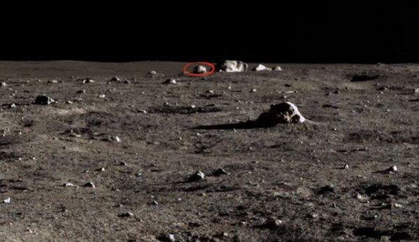 Уфолог на поверхности Луны обнаружил робота пришельцев