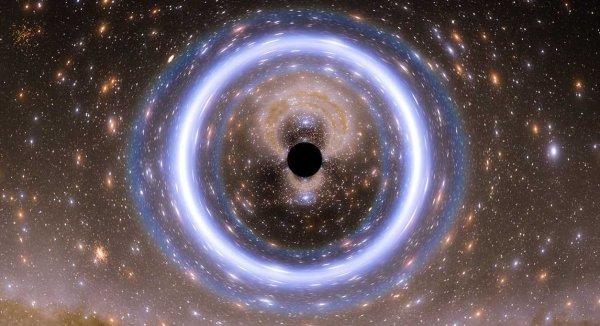 Вселенная находится внутри черной дыры: В ее центре существует портал в параллельный мир