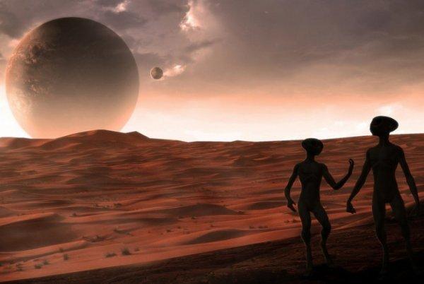 Учёные: Марсиан можно найти под землёй