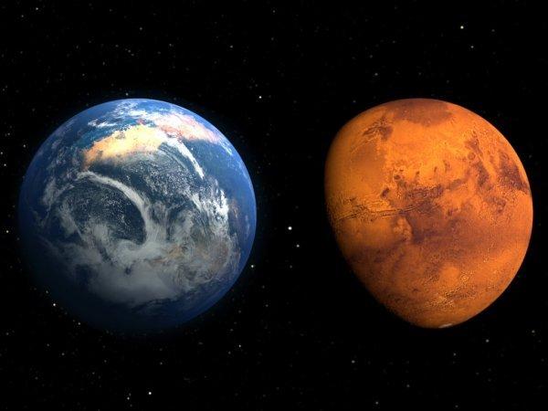 Жизнь на Марсе существует: Пришельцы скрываются под поверхностью Красной планеты