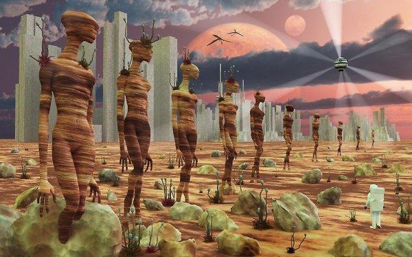 Ученые: Древние цивилизации контактировали с пришельцами