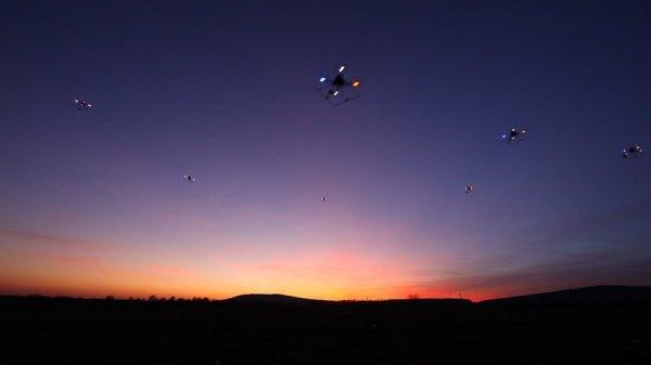 Житель Индианаполиса наблюдал за двумя НЛО
