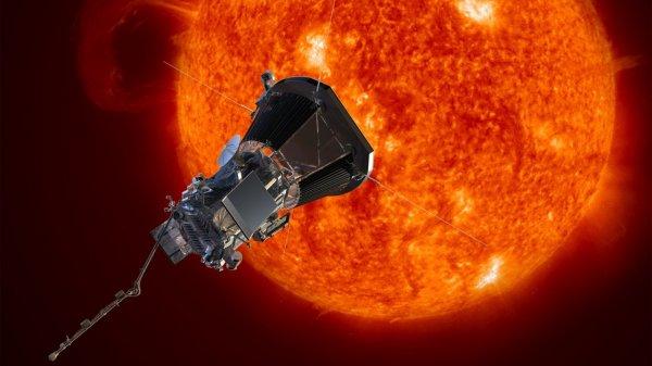 NASA отправило зонд к Солнцу